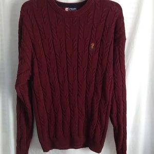 2/$13 Chaps Ralph Lauren Cable Knit Sweater